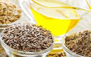 Семена и масло льна от паразитов