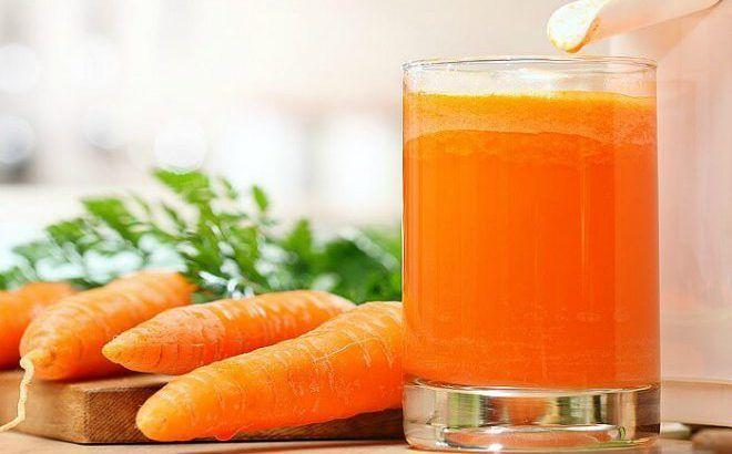 Морковно-медовый сок