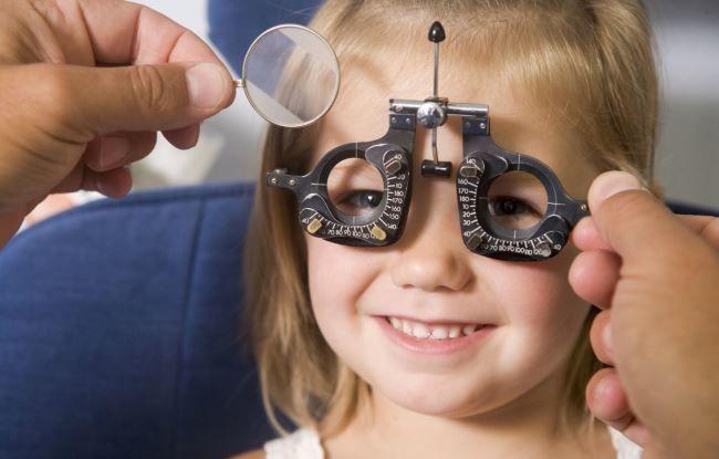 Резкое снижение остроты зрения у детей