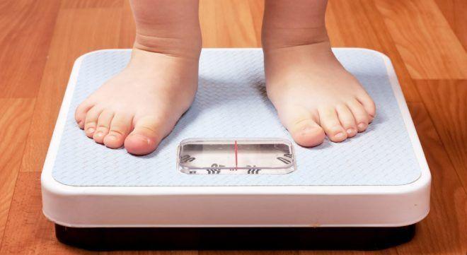 Снижение веса ребенка