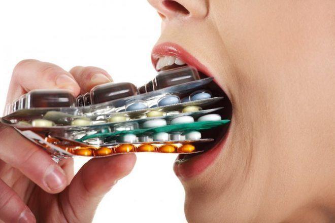 Бесконтрольный прием препаратов