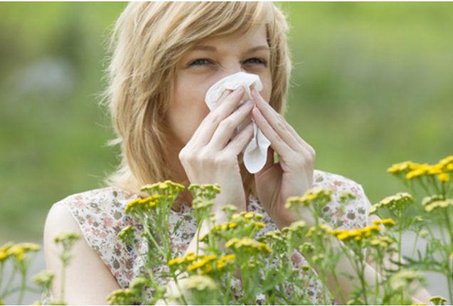 Аллергические реакции на цветущие растения