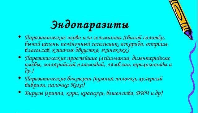 Эндопаразиты