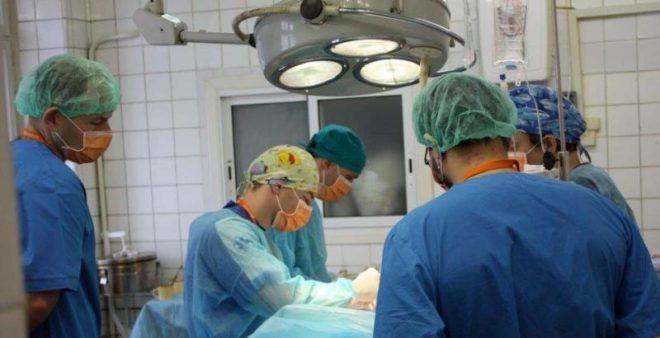 Избавление от паразита хирургически