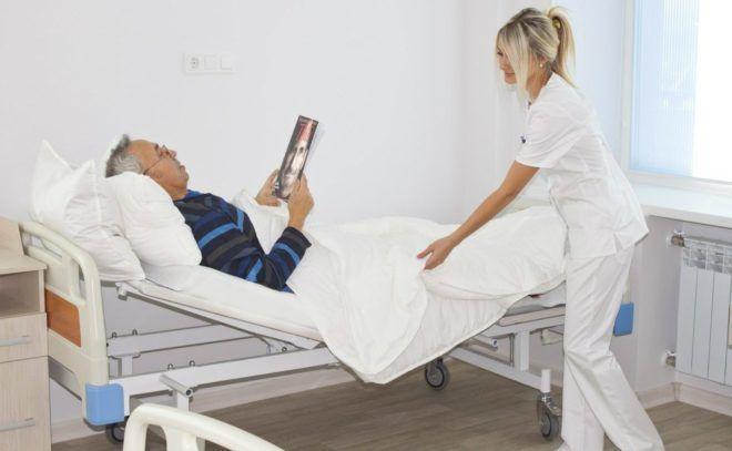 Лечение проводится в стационаре