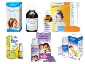 Препараты от педикулеза