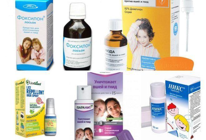 Различные препараты, способные помочь вывести вшей
