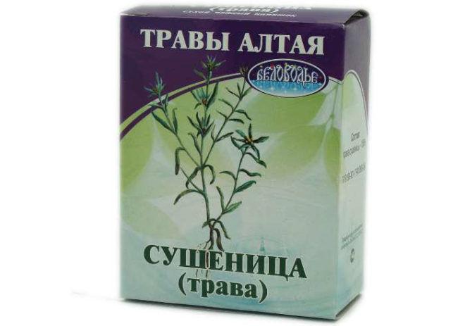 Сушеница полезные свойства