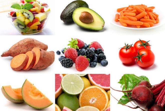 Витаминный состав пищи увеличивается при диете