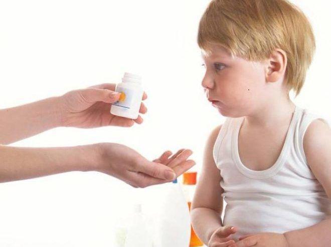 Витамины от глистов для детей