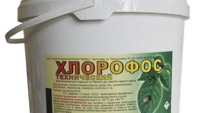 Хлорофос от клопов
