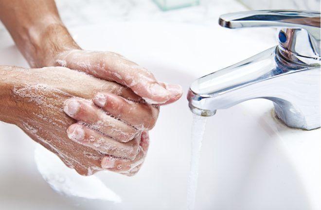 Мытьё рук