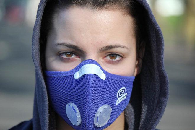 Необходимо защитить органы дыхания