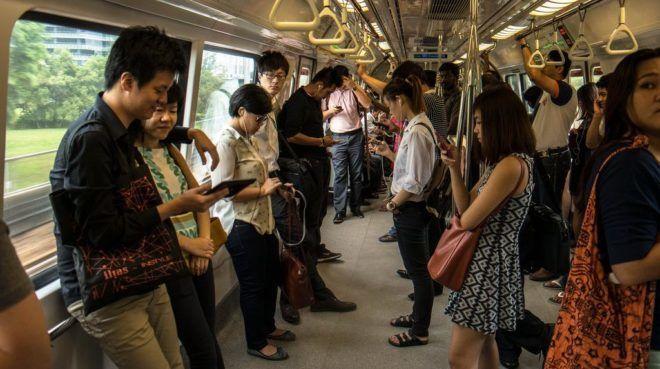 Общественных транспортах