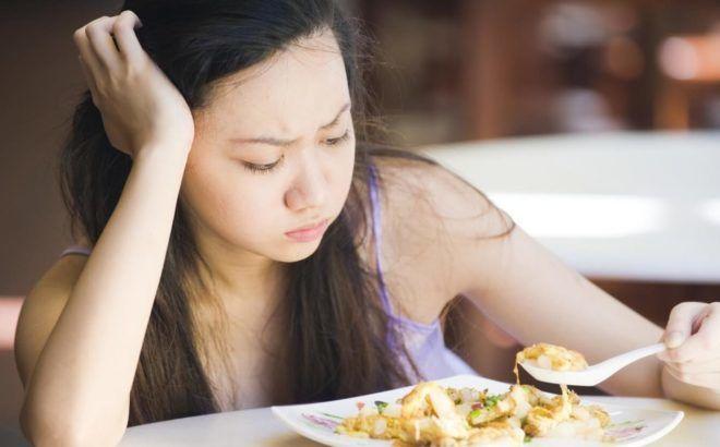 Потеря аппетита у взрослого