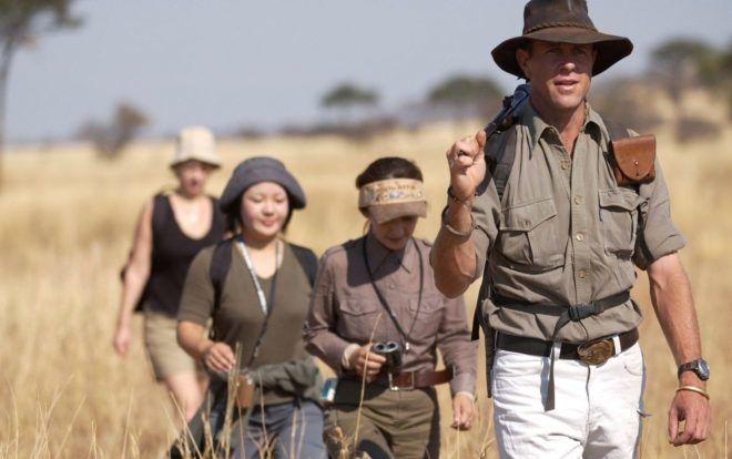 Туристы в Африке