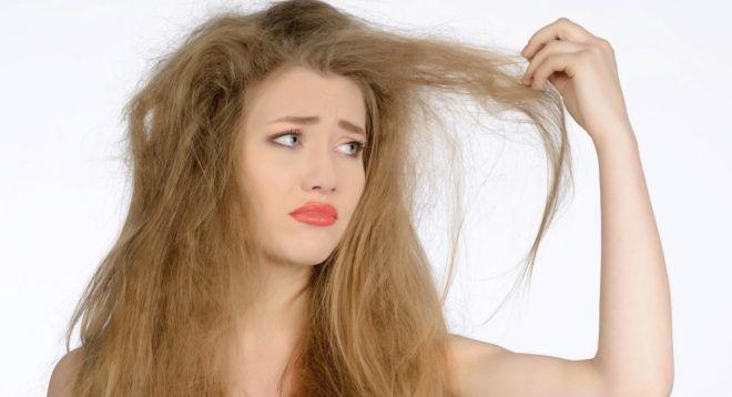 Тусклость волос