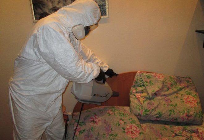 очищения комнаты от опасных ядохимикатов